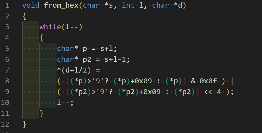 hex转数值